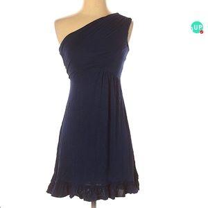 🦋3/$20 ModCloth  One Shoulder Midnight Blue Dress